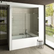 Linea Glass Bath Enclosure 6 mm